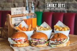 National Halal Burger Day Smoky Boys