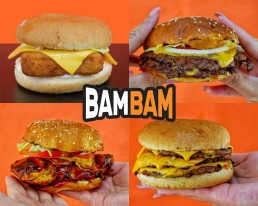 BamBam London National Halal Burger Day Burgers