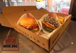 BRGR BRO Leicester Sliders National Halal Burger Day Burgers