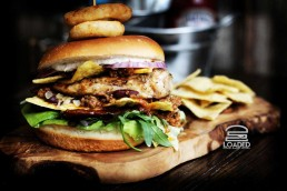 Loaded National Halal Burger Day Burgers