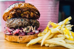 Baba G National Halal Burger Day Burgers