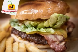 Manzano's Peri Peri National Halal Burger Day Burgers