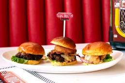 Big Moe's Diner National Halal Burger Day Burgers