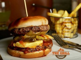 The Grill Factory National Halal Burger Day Burgers