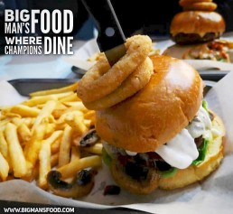 Big Man's Food Birmingham National Halal Burger Day Burgers