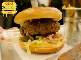 National Halal Burger Day Dada's Diner