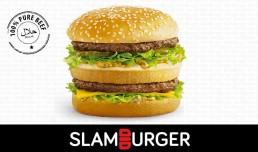 Slamburger McDonald's National Halal Burger Day Burgers