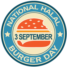 National Halal Burger Day September