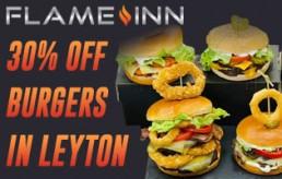 Flame Inn Leyton London National Halal Burger Day Burgers